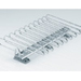 Aluminium Trouser Rack With Ceiling Mounted Rail 1