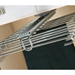 Aluminium Trouser Rack With Ceiling Mounted Rail 2
